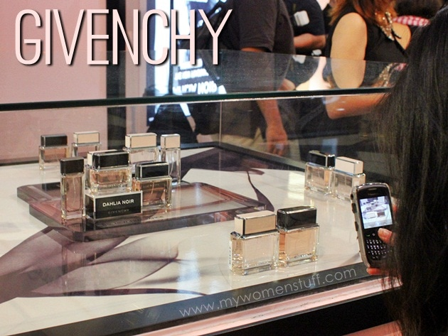 givenchy dahlia noir5 Givenchy Dahlia Noir: Go deep and mysterious with the Eau de Parfum or light and floral with the Eau de Toilette