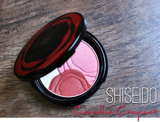 shiseido camelia compact21 Shiseido Camellia Compact : The only blush Ive ever contemplated getting a back up of