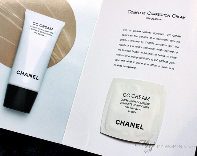 chanel cc cream6 Just Sampling: Chanel CC Cream   A Complete Correction Cream With 5 in 1 Benefits
