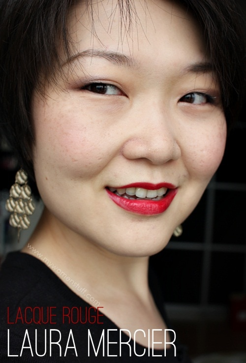 lacque fotd Laura Mercier Laque Rouge: Something this good should be made permanent, Laura!