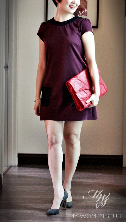 cny dress4 What I Wore Vol. 3 : A Touch of Red for Chinese New Year