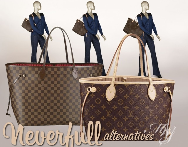 lv neverfull Same, same but different   Alternatives to the Louis Vuitton Neverfull