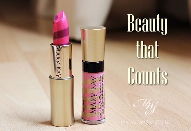 mary kay beauty counts Mary Kay Celebrates Beauty that Counts with limited edition lipstick and lipgloss because One Woman Can